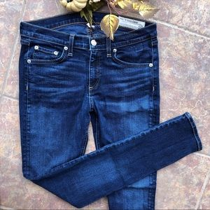 Rag & Bone Skinny Jeans Blue Size 28